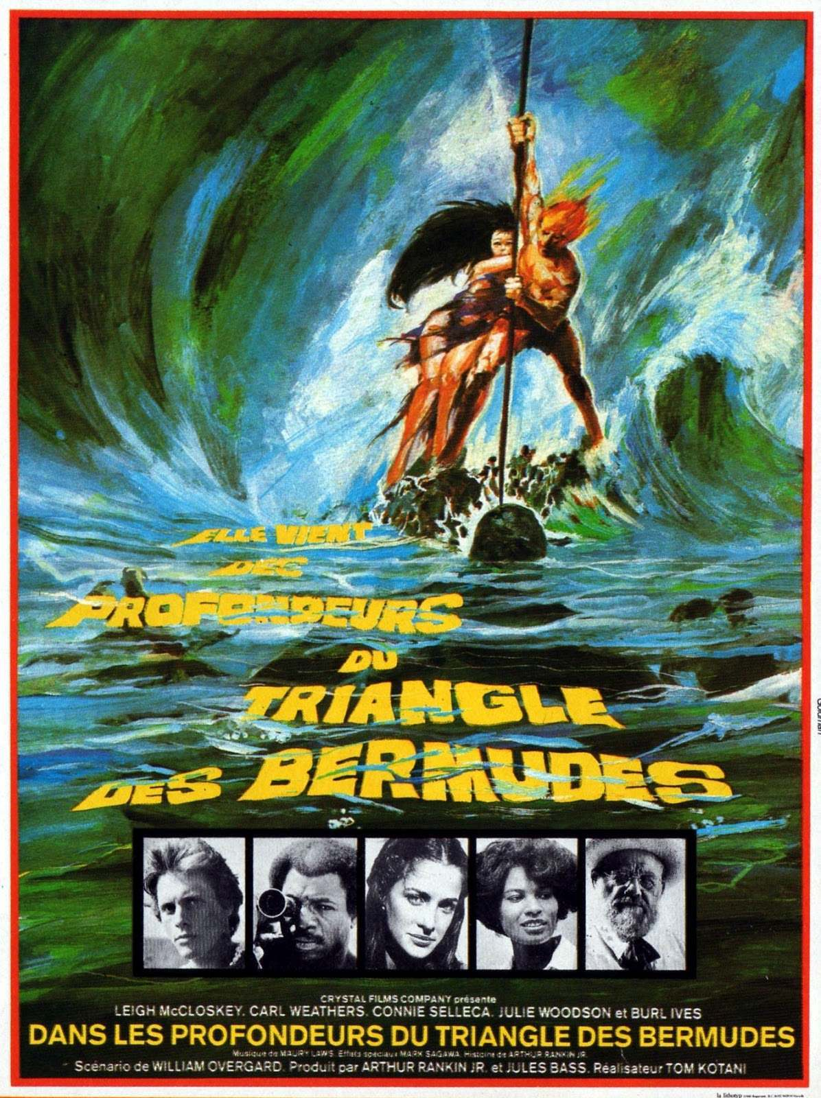 Los Abismos de las Bermudas - The Bermuda Depths - 1978 - Cartel000