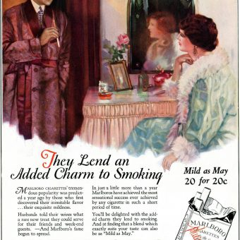 Mild as May – When Marlboro Cigarettes were for Women