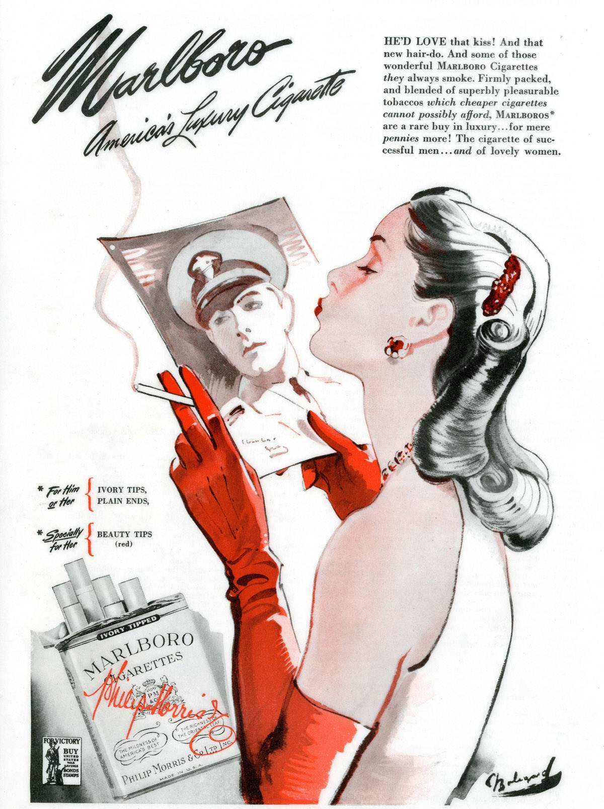Mild As May When Marlboro Cigarettes Were For Women