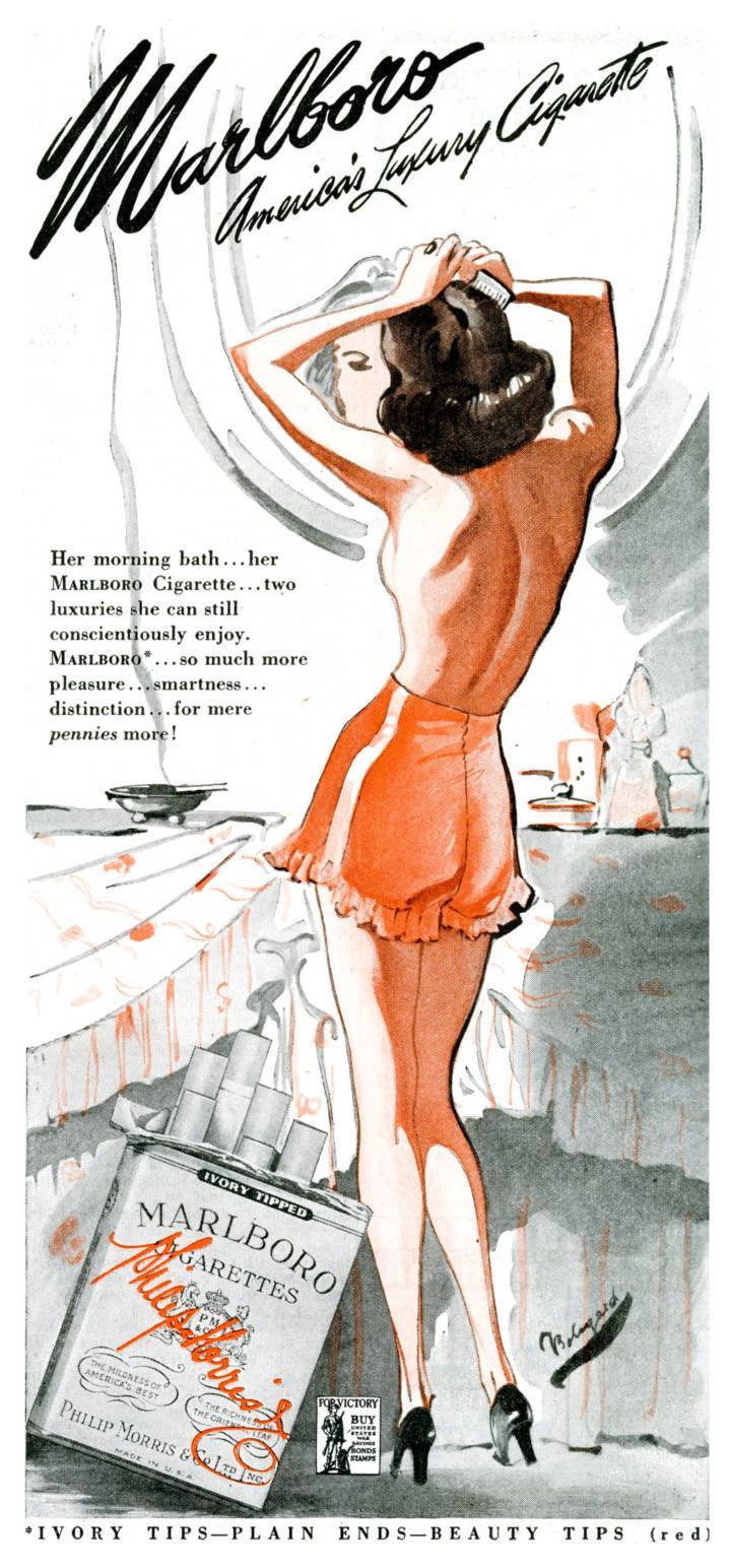 Marlboro for women 1942