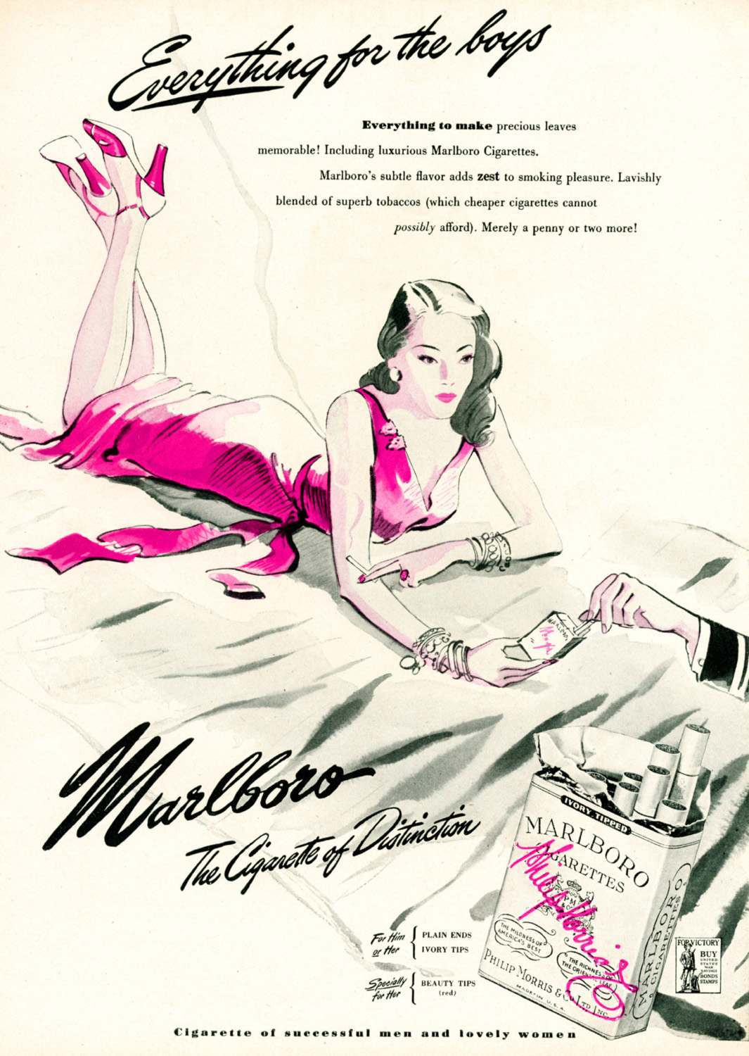 Marlboro for women 2 1945