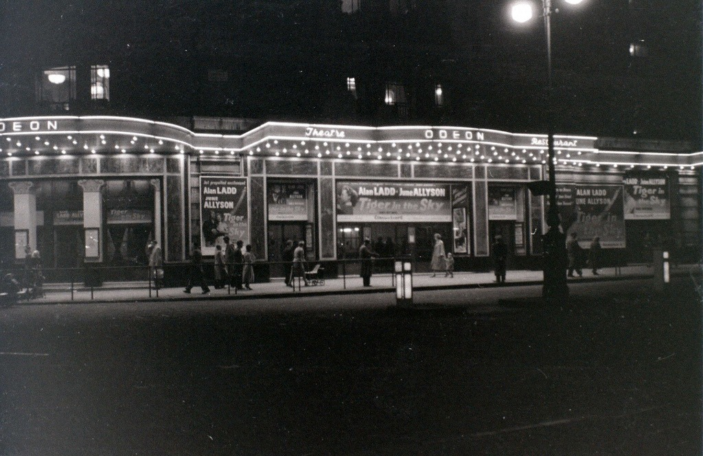 Odeon cinema, Marble Arch 5 November 1955