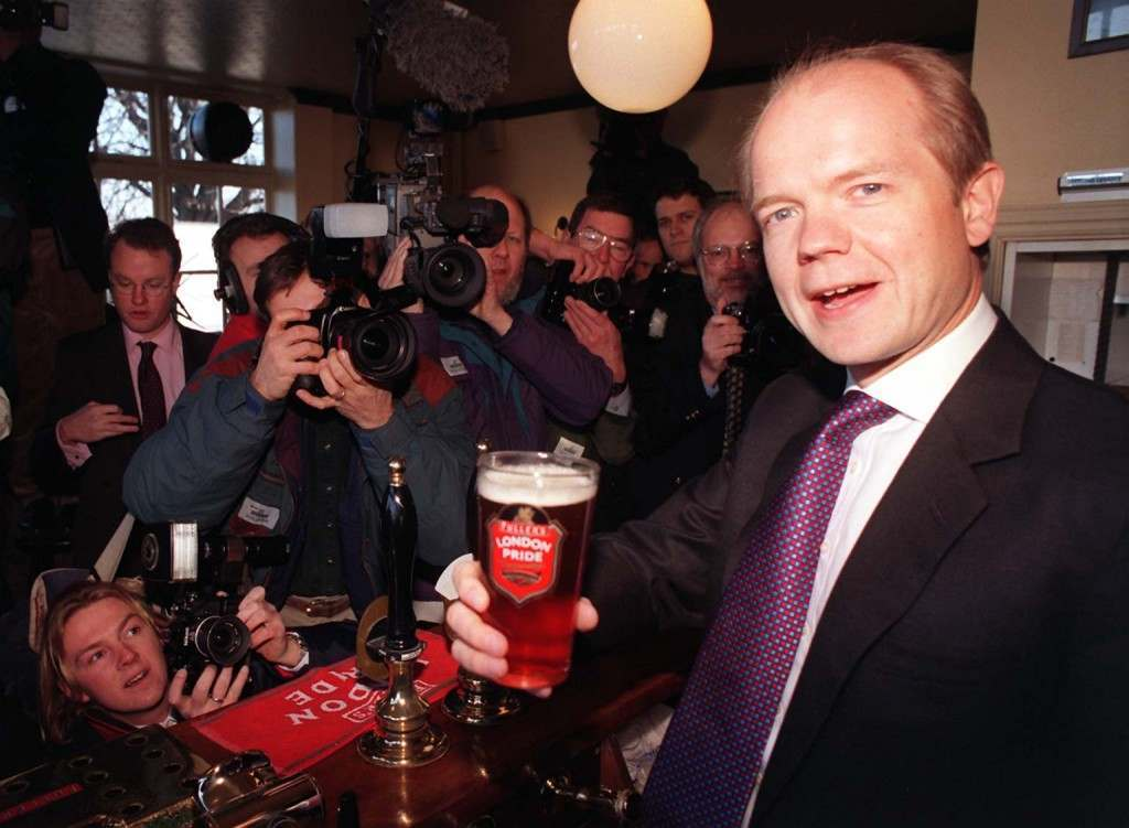William Hague Fullers beer