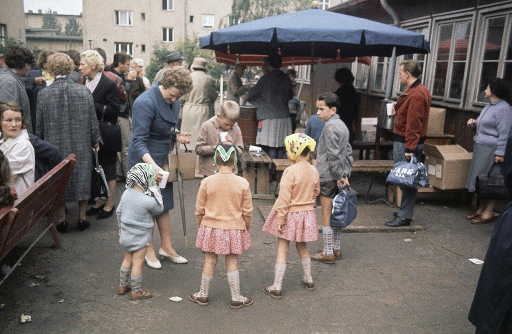 Marienfelds Refugee Camp Berlin, Germany