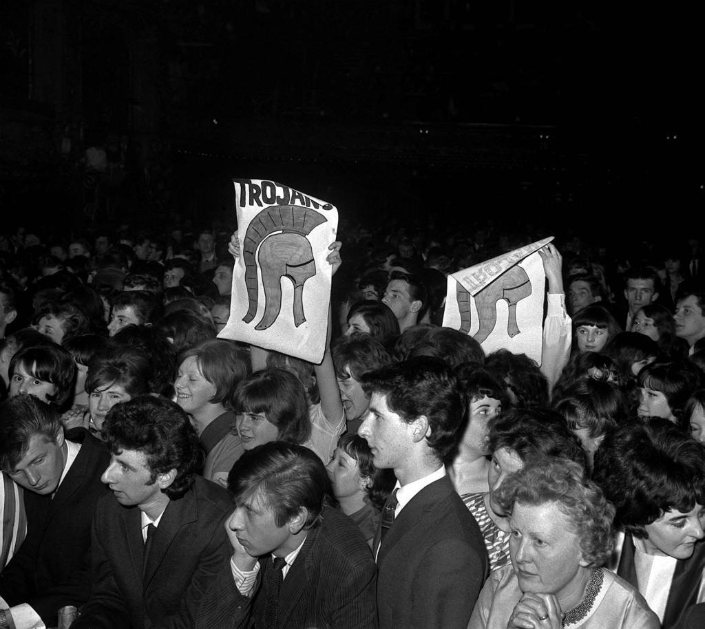 An audience of Mods watching the National Beat contest. Ref #: PA.1309170  Date: 05/05/1964