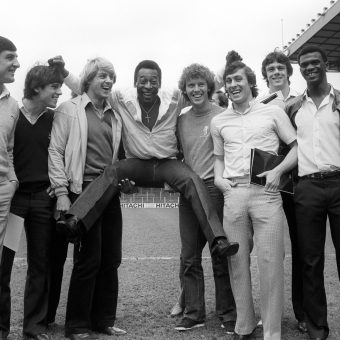1981: Arsenal And Pele Go Nuts For Ingersoll Electronics