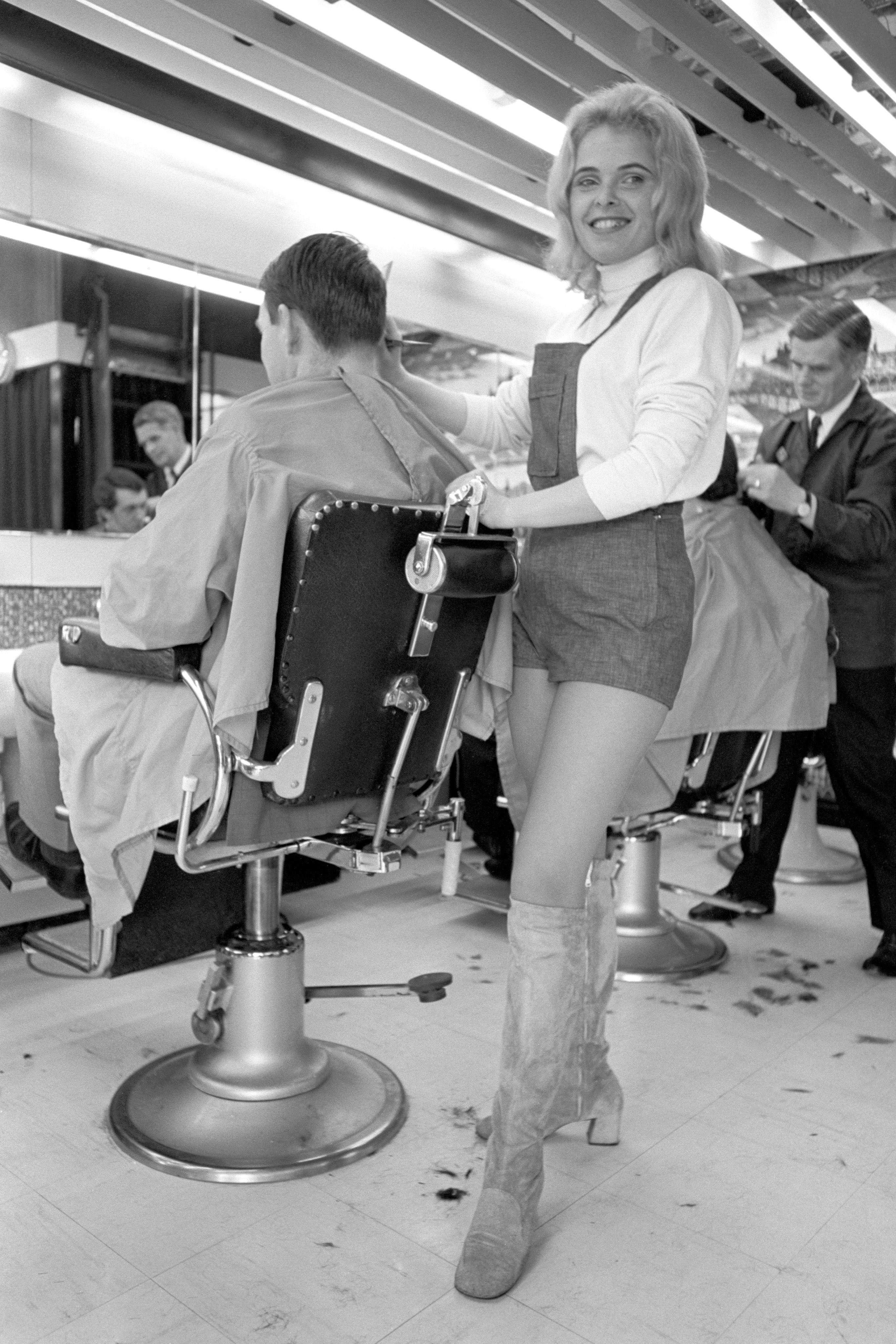 Life In The Barber S Shop And Salon British Hairdressing