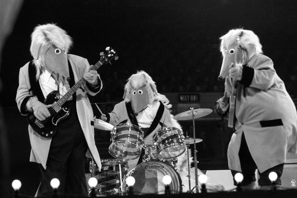 The Wombles at London Weekend Television's 'Saturday Scene' British Pop Awards at the Empire Pool in Wembley. Ref #: PA.21276947  Date: 16/11/1975