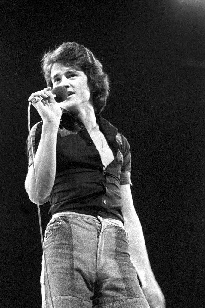 Les McKeown of the Bay City Rollers, who were performing at London Weekend Television's British Music Awards. Ref #: PA.21298686  Date: 16/11/1975