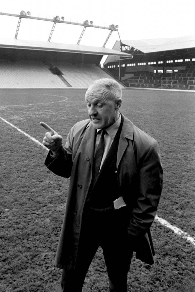 Liverpool manager, Bill Shankly  Ref #: PA.392734  Date: 24/05/1971