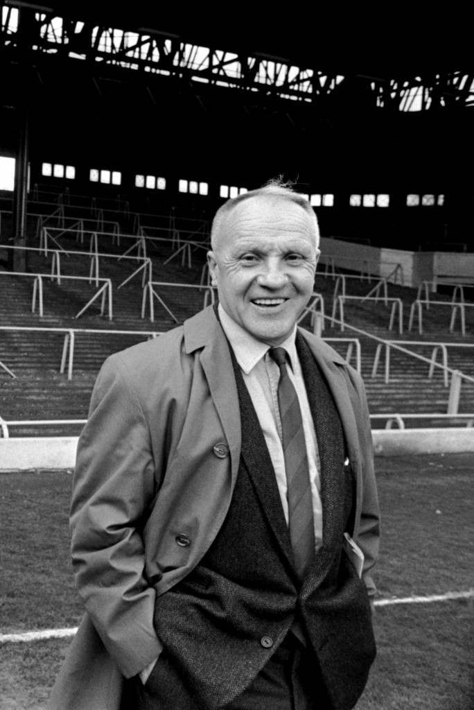 Liverpool manager, Bill Shankly  NULL Ref #: PA.392735  Date: 24/05/1971