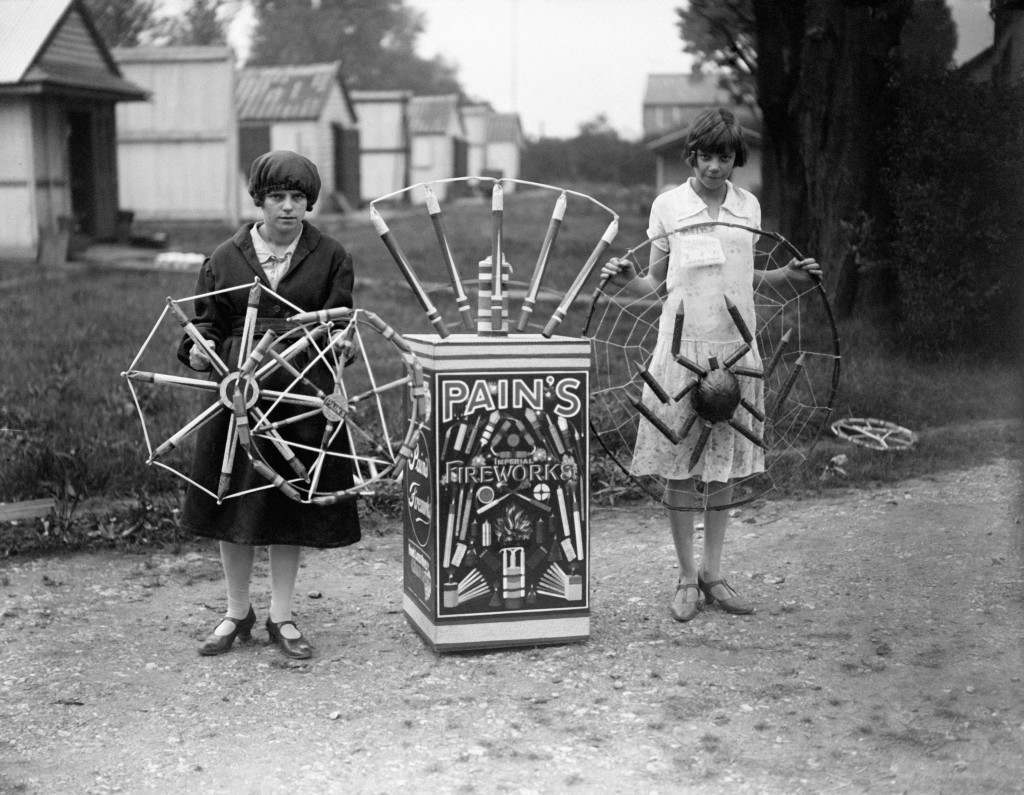Pain's fireworks factory 1928