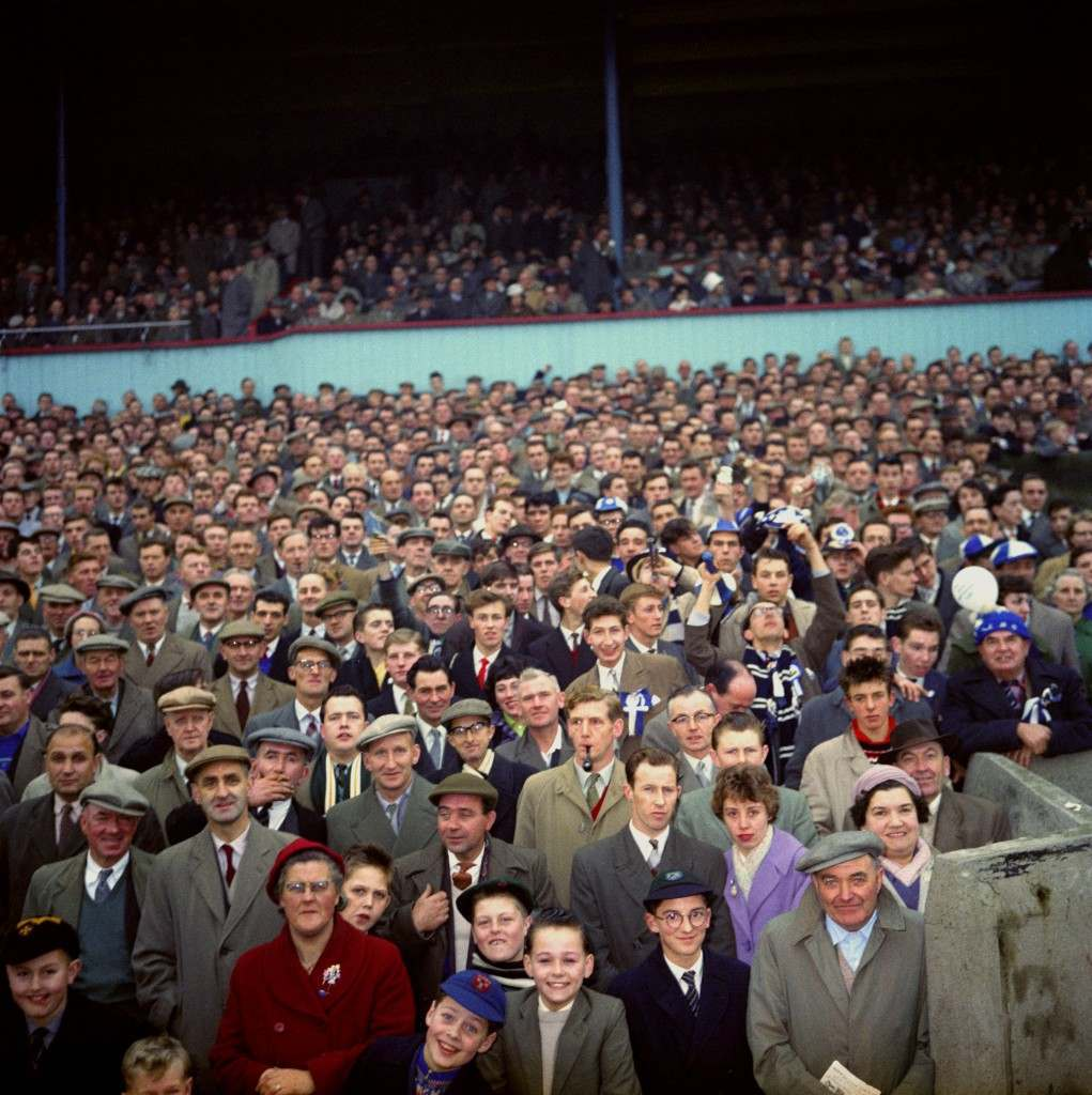 Crowd at St James's Park, Newcastle 351-1 Ref #: PA.4700265  Date: 01/01/1960