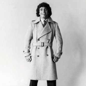 1980: Kevin Keegan Models His Harry Fenton Fashion Range