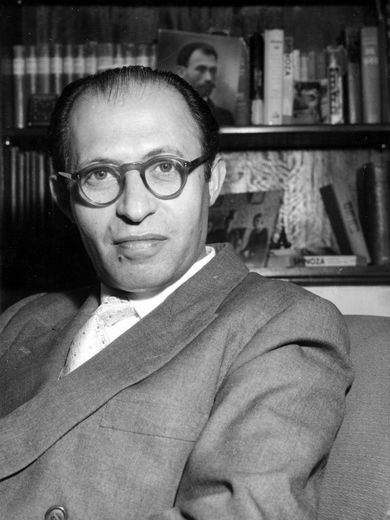 Menachem Begin, who gave his first public appearance since he went underground, in Jerusalem, Israel, August 3, 1948, is the leader of the Herut party in the Republic of Israel. The party is the strongest opposition party to prime minister David Ben-Gurion's Mapai party. Begin led one of the biggest terrorist gangs theat fought the British before the state of Israel was created. In 1948 the British placed a 30 000 Pound reward on his head, dead or alive. Now he is considered the number two man on Israel's political scene and he has been a strong opponent of Ben-Gurion's solution of the Gaza problem. (AP Photo/Pringle) Ref #: PA.5737181 Date: 03/08/1948