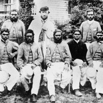 Walkabout Cricket: The Australian Aborigini England Tour And Boomerang Circus Of 1868