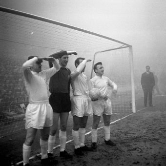 November 11 1963:  Tottenham Hotspur Lose Manchester United In The Fog