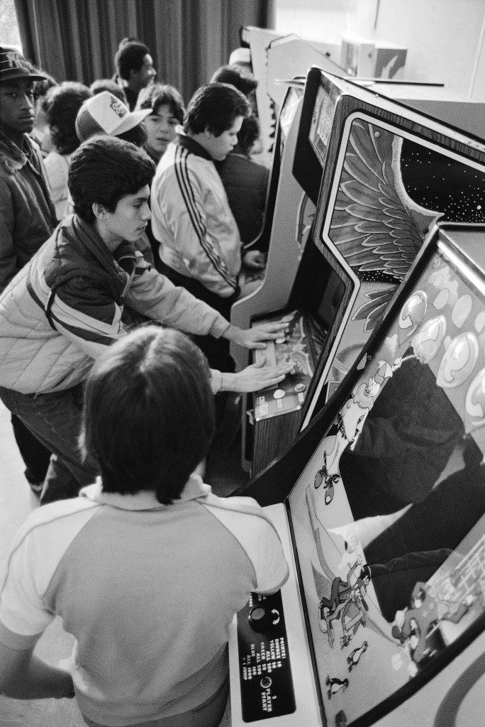 People play video games at a New York game arcade. Ref #: PA.8038390  Date: 20/12/1981