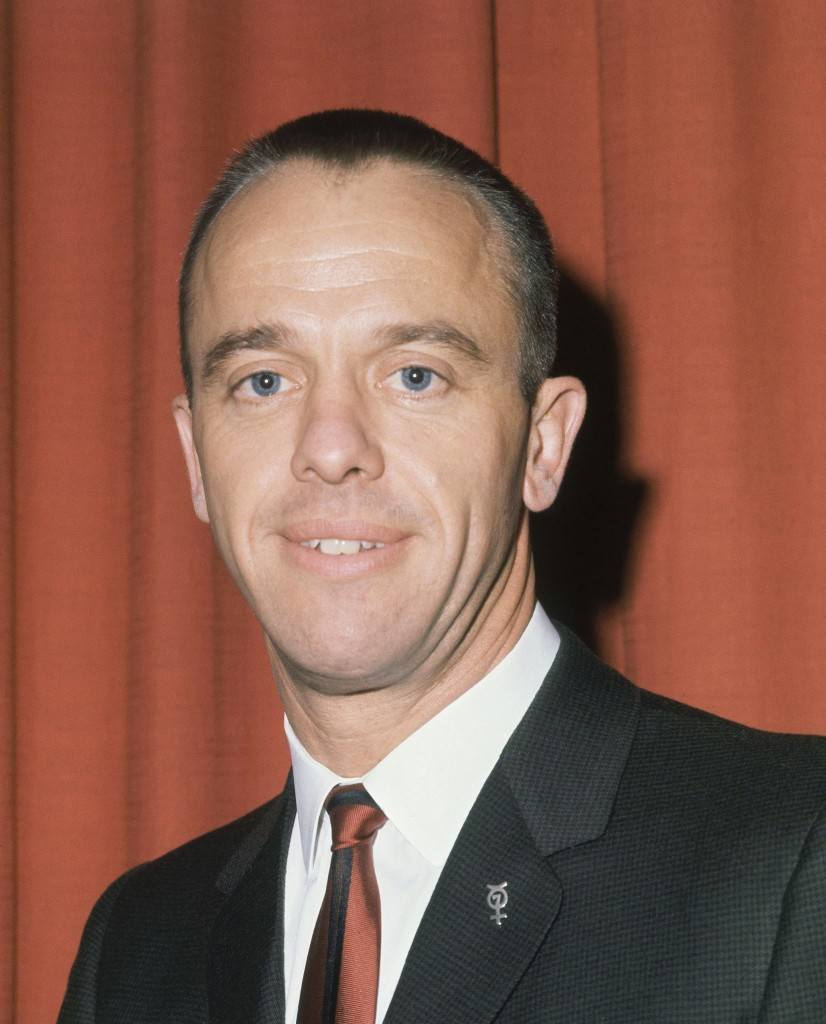 Astronaut Alan Shepard in January 1961. (AP Photo) Ref #: PA.8611864