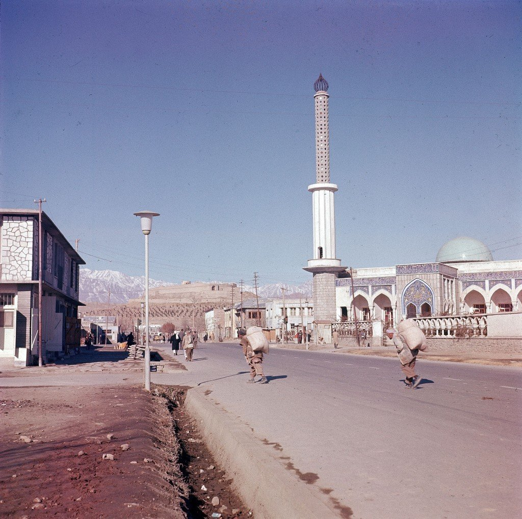 This is a general view of one of the new mosques erected in the suburb of Kabul, capital city of Afghanistan, in Nov. 1961. (AP Photo/Henry S. Bradsher)