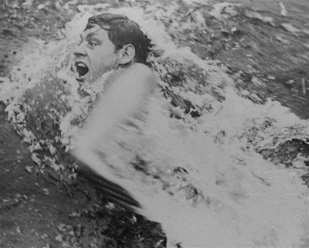 Johnny Weissmuller is shown competing in an international swimming tournament at the Tamagawa pool on the outskirts of Tokyo, Japan, in November 1928, shortly before he announced he would turn professional. (AP Photo) Ref #: PA.8647552