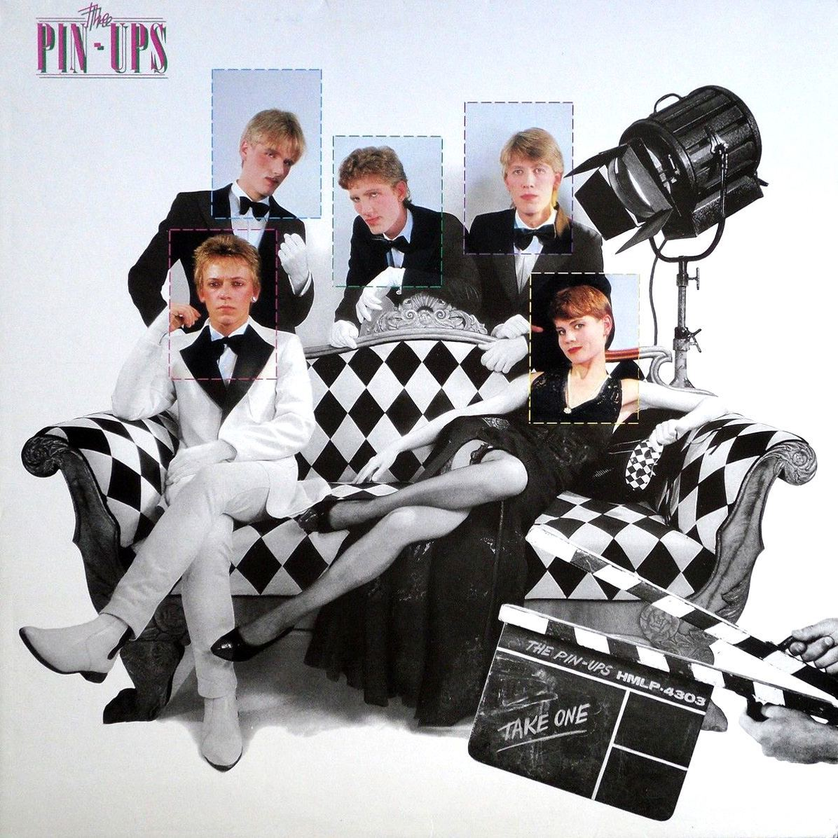 PIN-UPS Take One Danish Power Pop Punk LP 1981 Brats