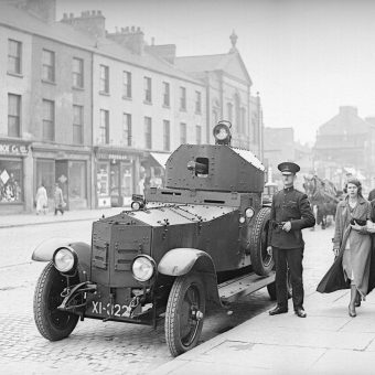 Pictures of the 1935 Belfast Riots in York Street