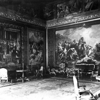The Smoking Room At The Vatican, 1929