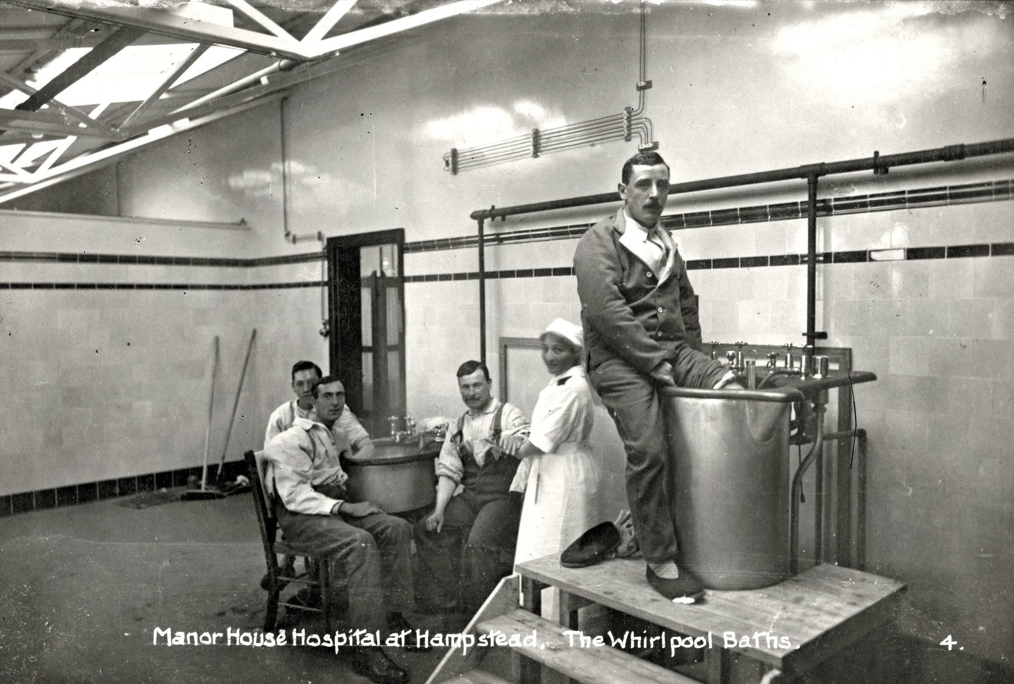 Creepy Photos Of Early 20th Century British Hospitals