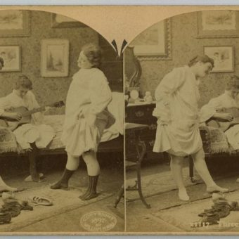 19th Century Voyeurism: Victorian Love And Sex In Stereoscopic 3D