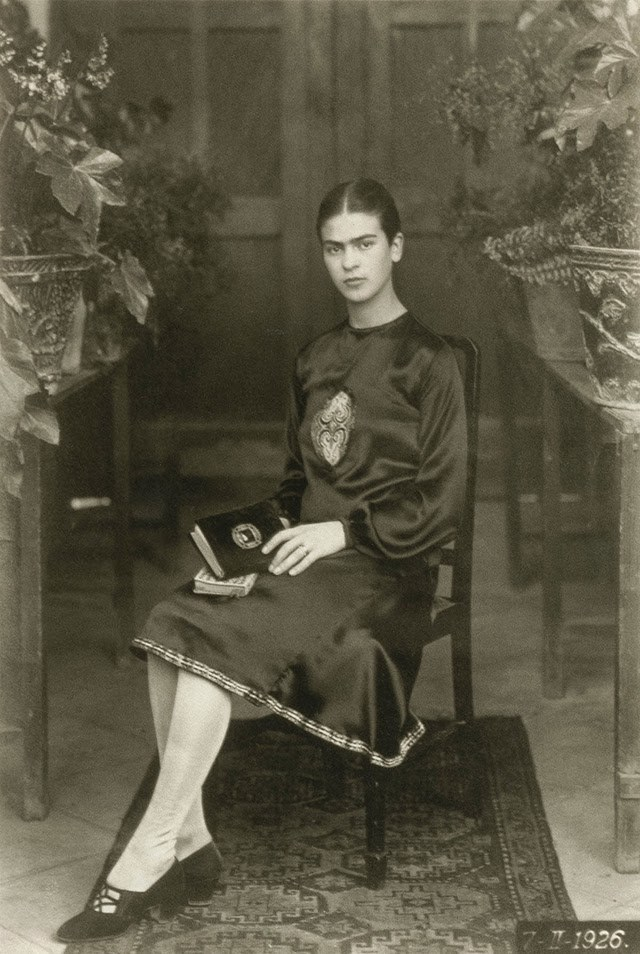 Frida at 18 years old, 1926