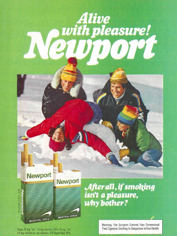 Alive With Pleasure! Insanely Sexual Newport Adverts of the