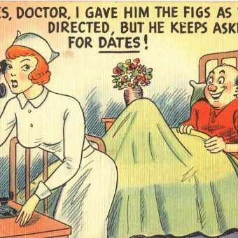 From Saint To Sex Object: Postcards of Nursing 1900-1950