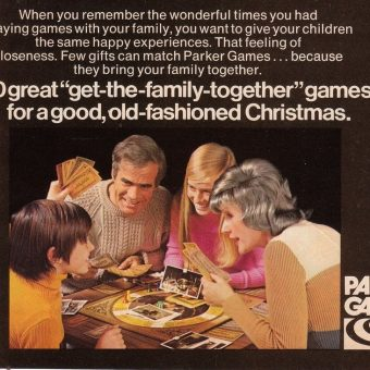 Monopoly to Ouija: Parker Brothers Games of 1972