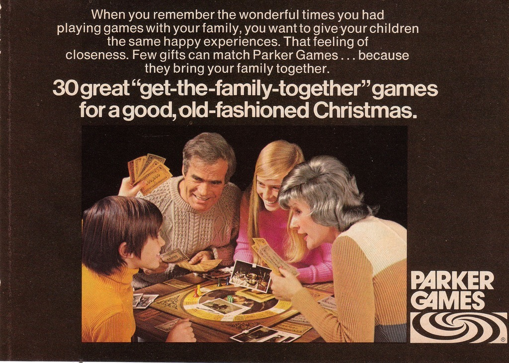 Monopoly to Ouija: Parker Brothers Games of 1972 - Flashbak