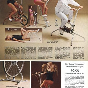 Stationary Bike-O-Rama: Pedalling Your Way to Fitness in the 1970s