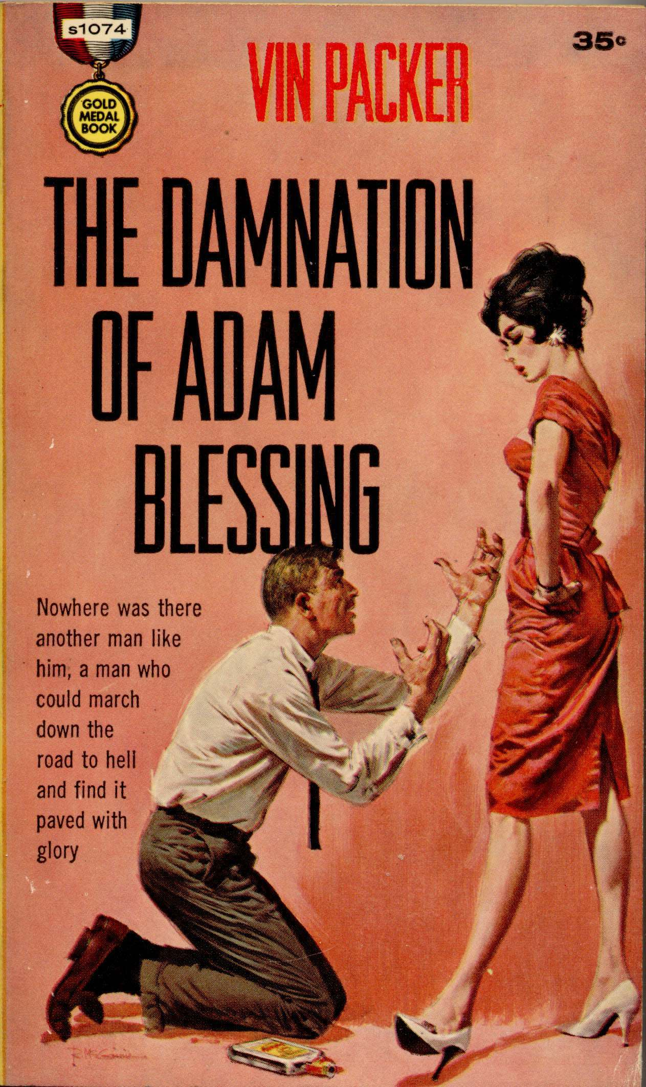 The Damnation of Adam Blessing by Vin Packer, 1961.