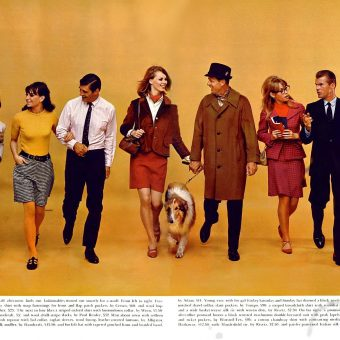 Swinging 1966 Fashion Spreads