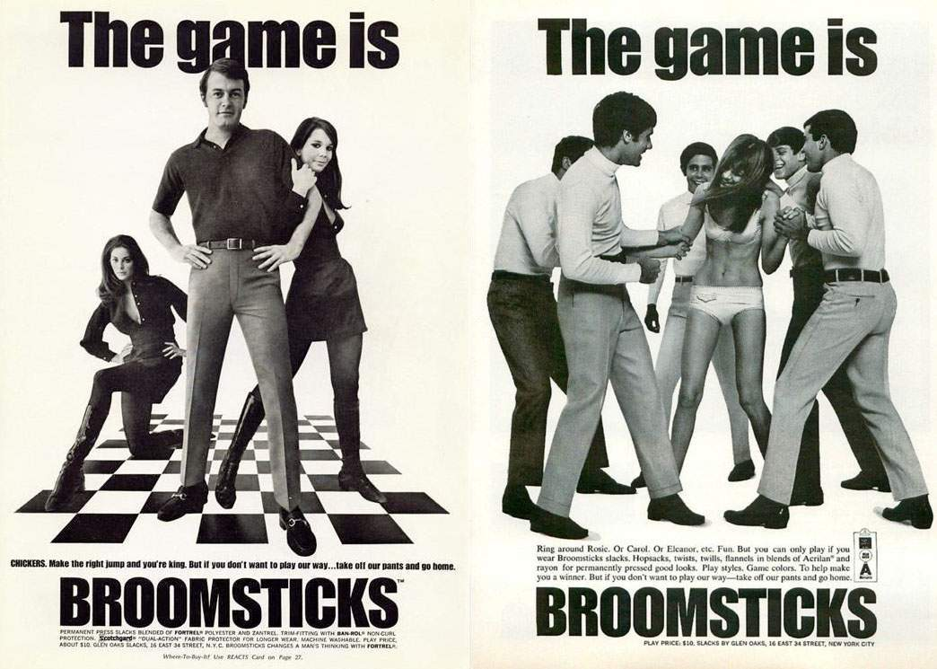 1968 and 1967 Broomsticks