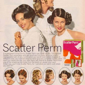 Vintage Hair Adverts: 1960s-70s Products, Styles and Tragic Cuts