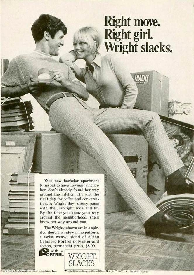 1969 Fortrel Slacks