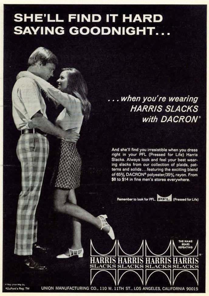 1969 Harris Slacks