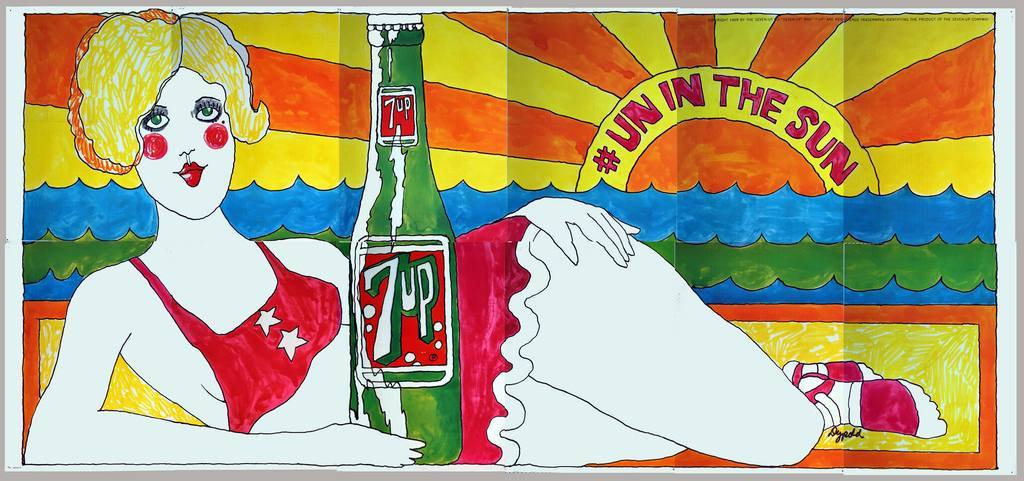 'Un In The Sun' By Pat Dypold, 1969.