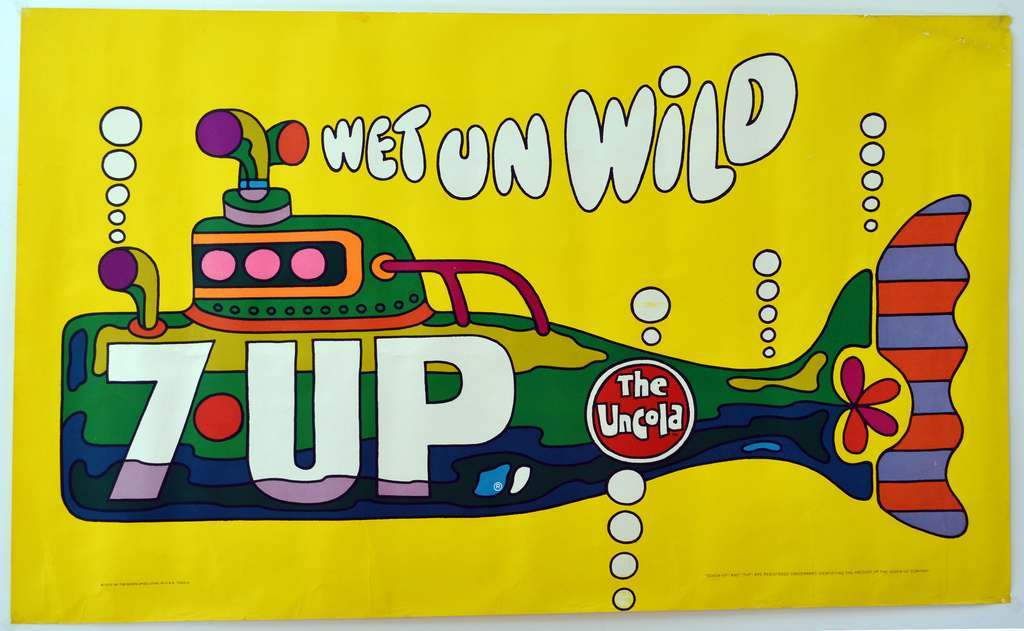 1970 7UP Wet Un Wild Ed George