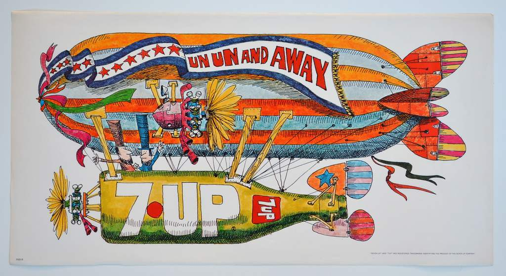 From Uncool To Uncola The Fabulous Psychedelic 7 Up Ads