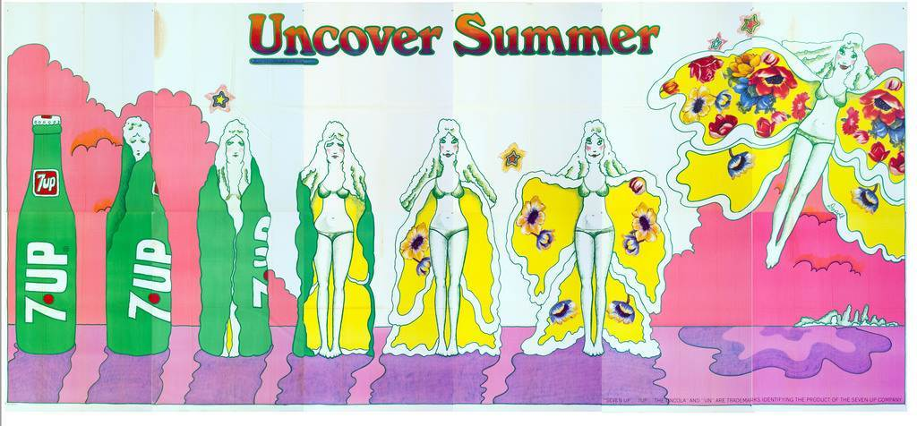 1971 7Up UnCover Summer Pat Dypold