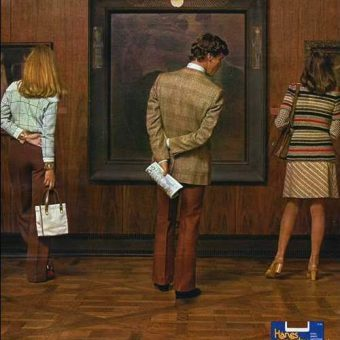 """The """"Sexist"""" Gentlemen Prefer Hanes Adverts of the 1970s and 80s"""