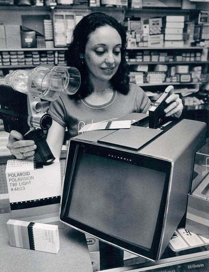1978 Polavision Instant Movie System