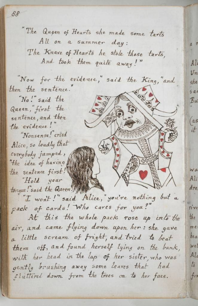 Alices Adventures - Lewis Carroll