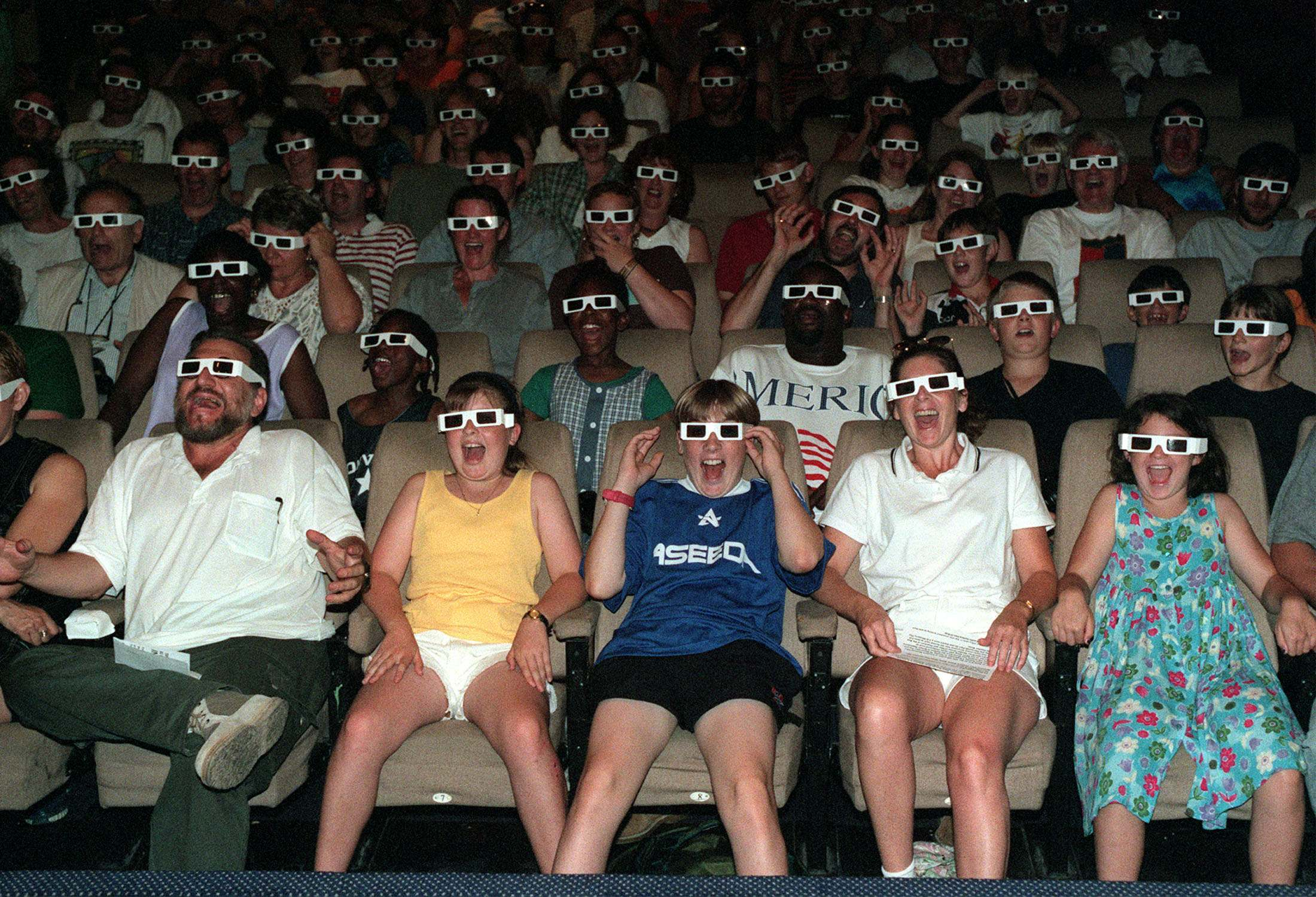 3-D Glasses National Film Theatre